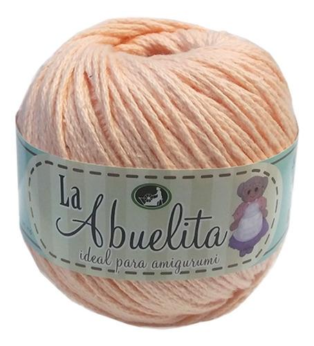 hilaza la abuelita 100% algodón madejas de 50g