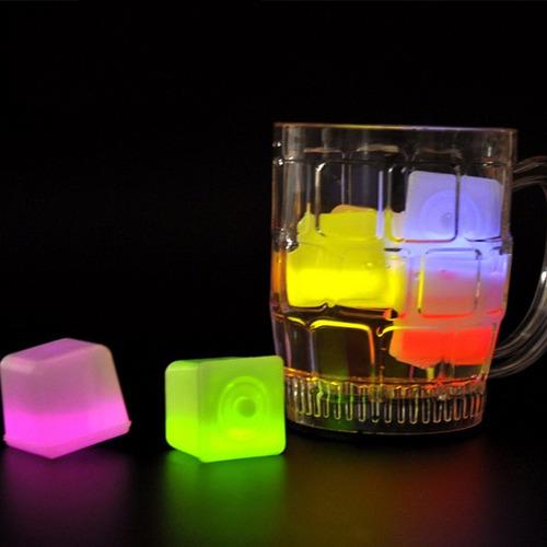 hilelos luminos neon no usan pila, hielos neon