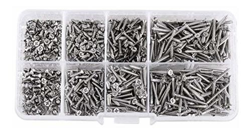 hilitand pack de 800 piezas m2 tornillos
