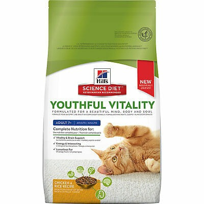 hill \ 's science diet juvenil vitalidad adulto 7+ receta d