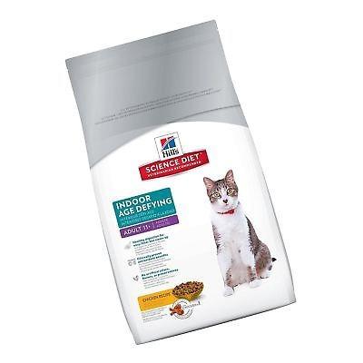 hill \ 's science diet senior indoor cat food adulto 11+ in