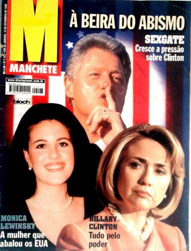 hillary clinton manchete ed.2428-set\1998