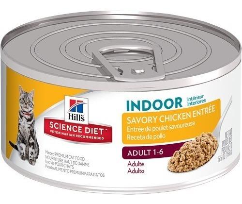 hills gato indoor lata x 5.5oz