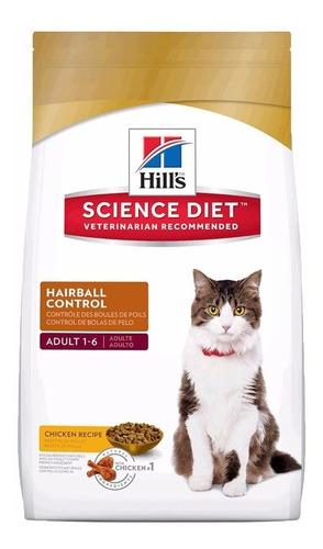 hills gatos hairball 15.5 lb -control bola de pelos- enviog*