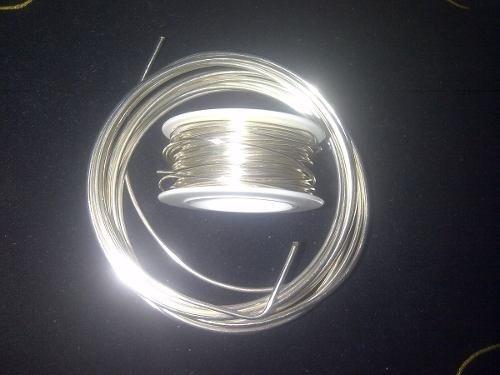 hilo alambre plateado tpc 26