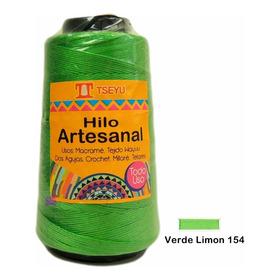 Hilo Artesanal Macrame Crochet Wayuu Telares 100grs Tseyu