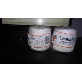 Hilo Carmencita Para Tejer Color Blanco 50 Gramos