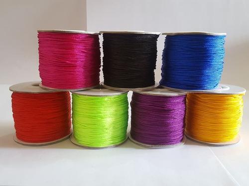hilo chino rollo de 100 yds bisuteria variedad de colores