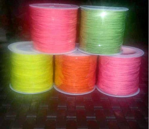 hilo chino rollo todos los colores  precio x 3 rollos
