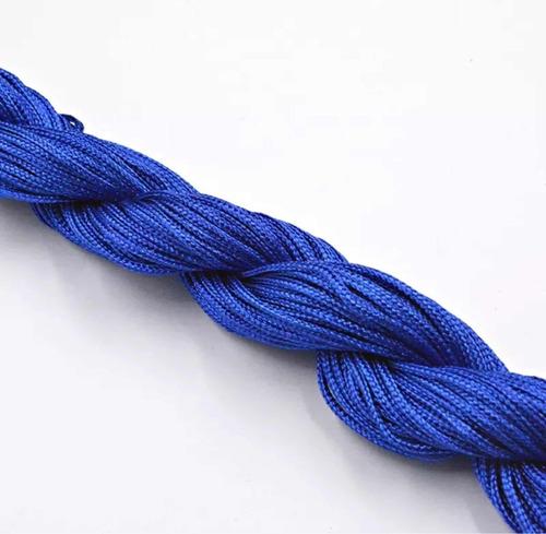 hilo chino trenzado 1.5 mm con 22 colores 12 metros