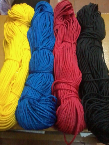 hilo cordon paracord rollo de 25  mts)