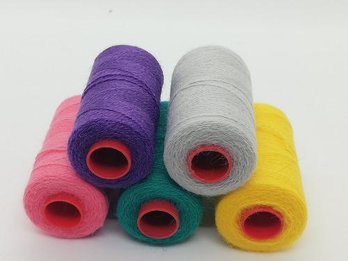 hilo de bordado chino x 5 ovillos colores a eleccion