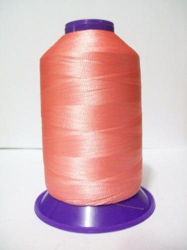 hilo de bordar color salmon 5000 yardas