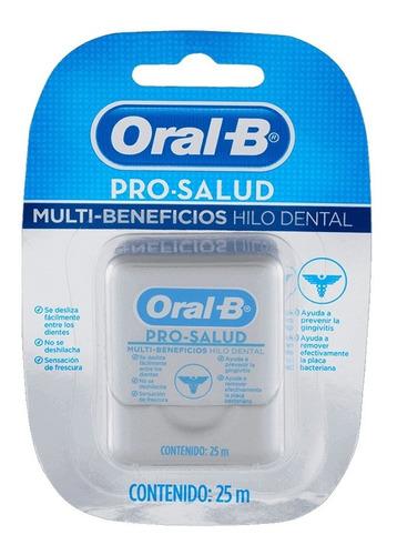 hilo dental menta oral b prosalud multibenef 2x25m