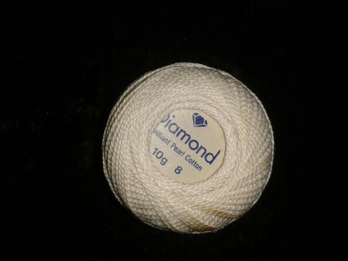 hilo diamond brillant pearl cotton100% mercerized colorfast