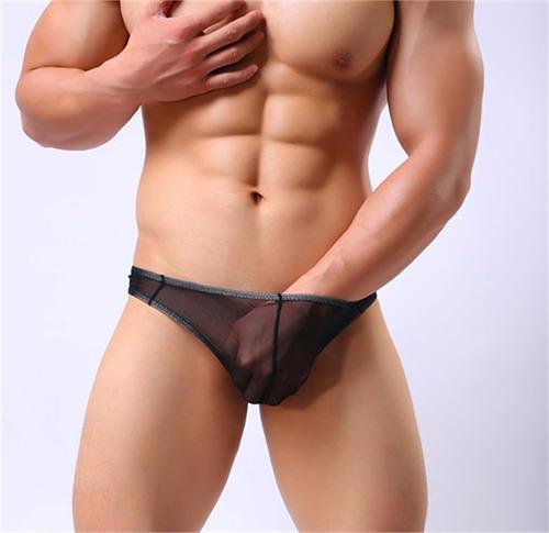 hilo negro hombre tanga lencería hot caliente sex kamelia.me