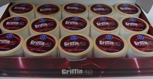 hilo para depilar cejas profesional griffin 40 caja 15 unid