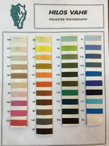 hilo para maquina de coser recta x unidad colores