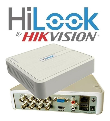 hilook by hikvision turbo hd 8 canales tvi ahd cvi cvbs ip