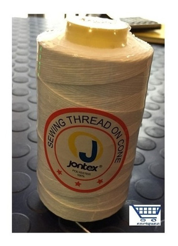 hilo/piola jontex para cosedora de sacos 100% poliester