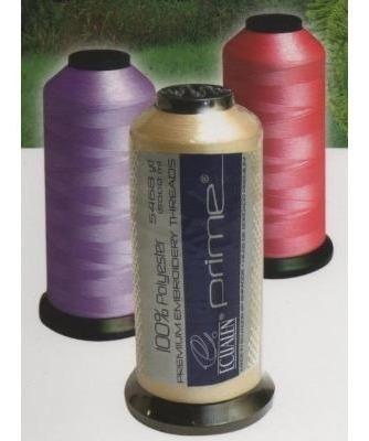 hilos de bordar,bordadoras polyester 100%,marca prime