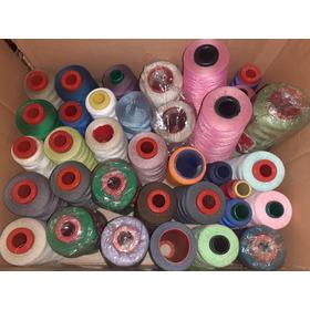 Hilos De Coser  De Colores Lote Usado