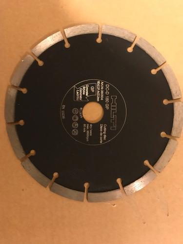hilti discos diamante para corte de concreto 7¿