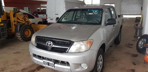 hilux  2008  2.5 dx cab doble 4x2 (2009