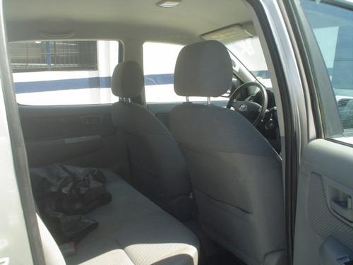 hilux 2008 cabine dupla srv turbo  automatica