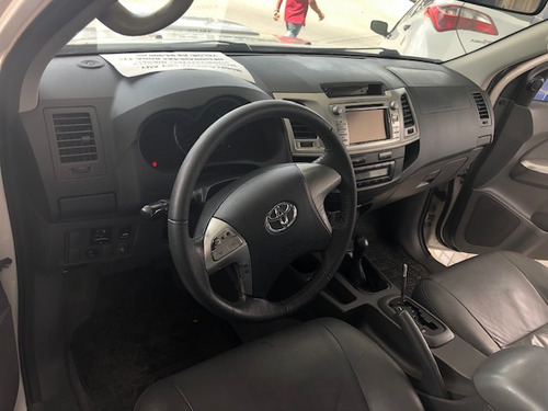 hilux 3.0 srv top cab. dupla 4x4 aut. 2013/2013 na bahia