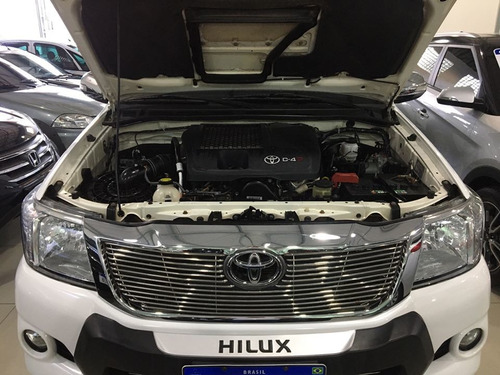 hilux 4x4 srv 2015/2015 cd automática completa