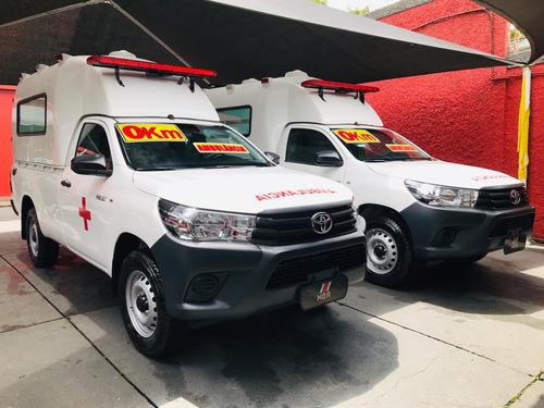hilux ambulância 4x4 simples remoção