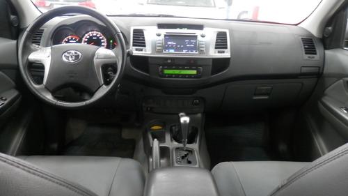 hilux cab. dupla srv 3.0 4x4 aut.**2014**completo**cavalcant