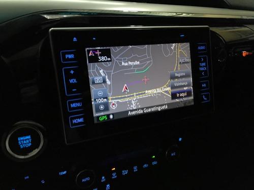 hilux cd srx turbo diesel 4x4 aut top  24.000 km garantia fb