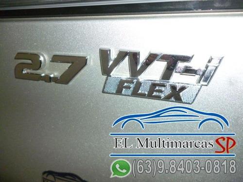 hilux sw4 sr 4x2 2.7/2.7 flex 16v mec.