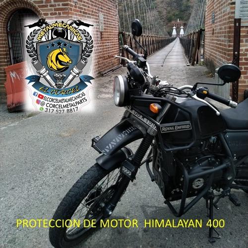 himalayan 400 defensas de motor