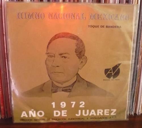himno nacional mexicano ep 1972 coral mexicano