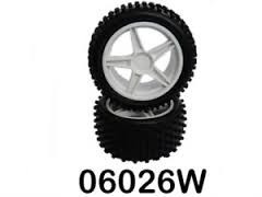 himoto 06026w  rear wheel complete buggy