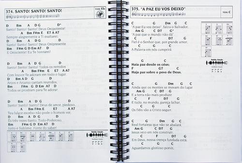 hinário cifrado violão nº5 ccb grande a4