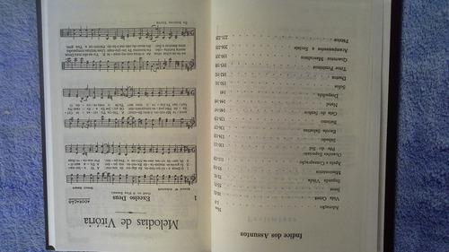 hinário melodias de vitória