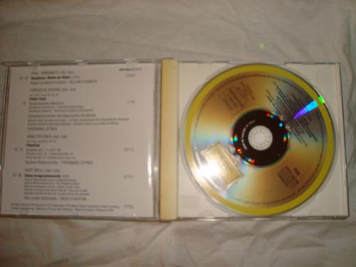 hindemith weill pfitzner busni deutche audio cd en caballito