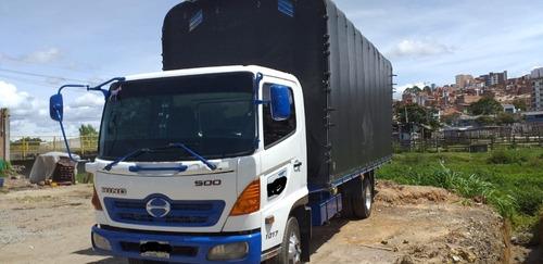 hino 500 fc capacidad 8 toneladas libres