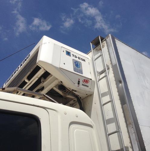 hino doble troque furgón refrigerado 2008