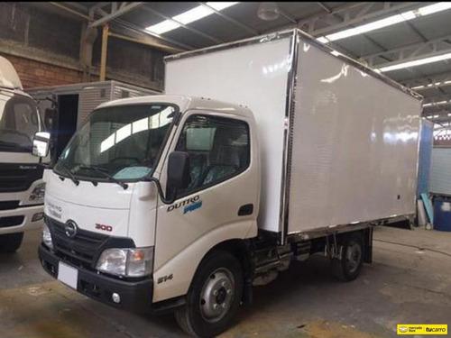 hino dutro pro 300 camion furgon