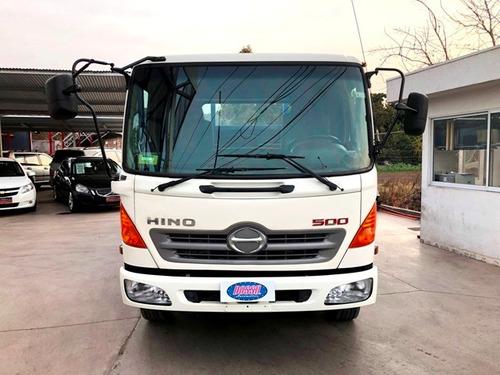 hino fc1121 carrocería media baranda año 2015