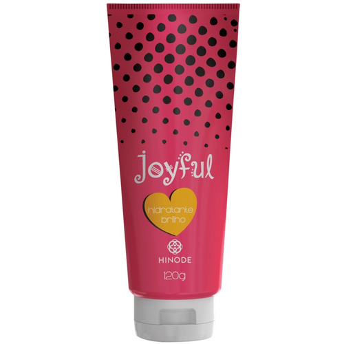hinode joyful loção hidratante brilho 120g