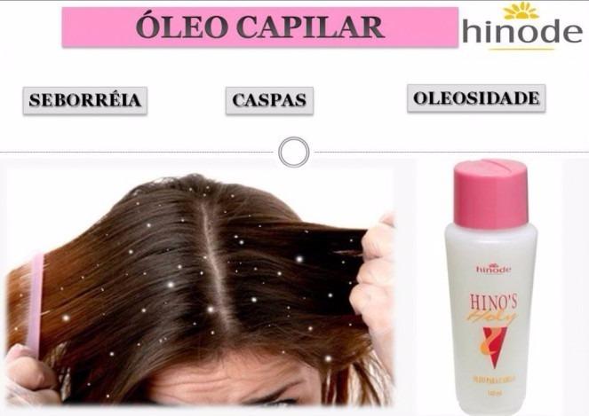86c56cb28 Hino's Óleo Para Cabelo Caspas E Queda Hinode - R$ 33,00 em Mercado ...