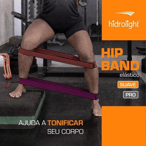 hip band elástico suave kit c/ 3 extensor fitness ginástica