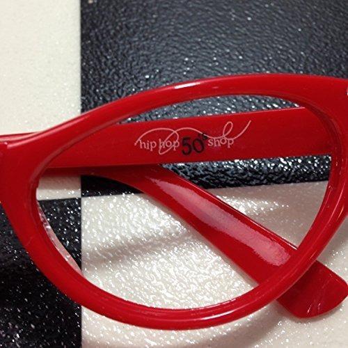 4e81c0ee7ce4 Hip Hop 50s Shop Womens Cat Eye Rhinestone Glasses -   94.990 en ...