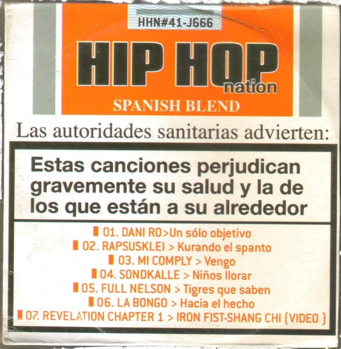 ... hip hop rap español ) cd. Cargando zoom.